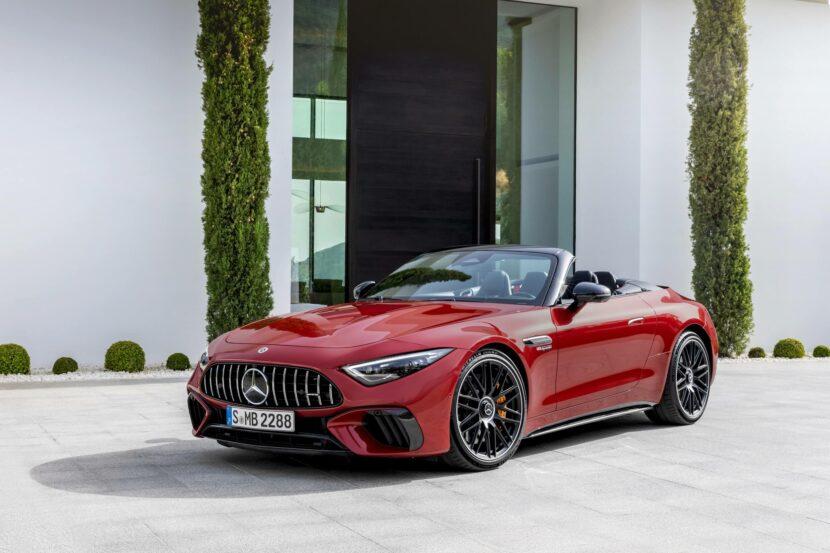 2022 Mercedes AMG SL exterior 8 830x553