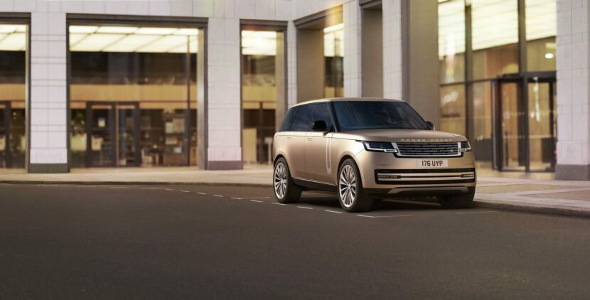 2022 Range Rover unveiled with BMW 4.4-liter V8 power