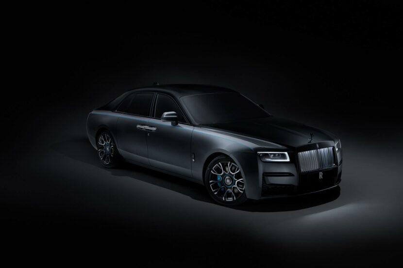 Rolls Royce Ghost Black Badge photos 04 830x553