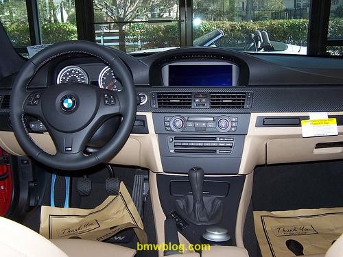 BMW E92 M3 Interior