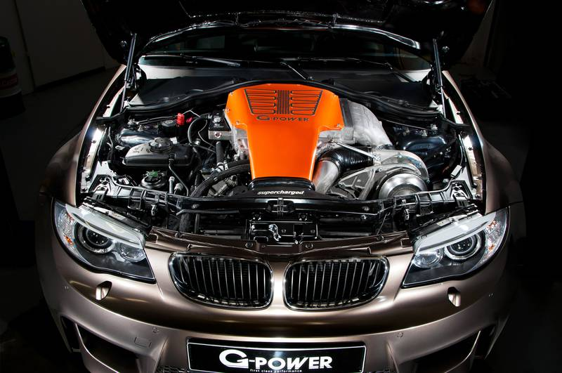 Bmw 1m By G Power With V8 Engine And 600 Hp