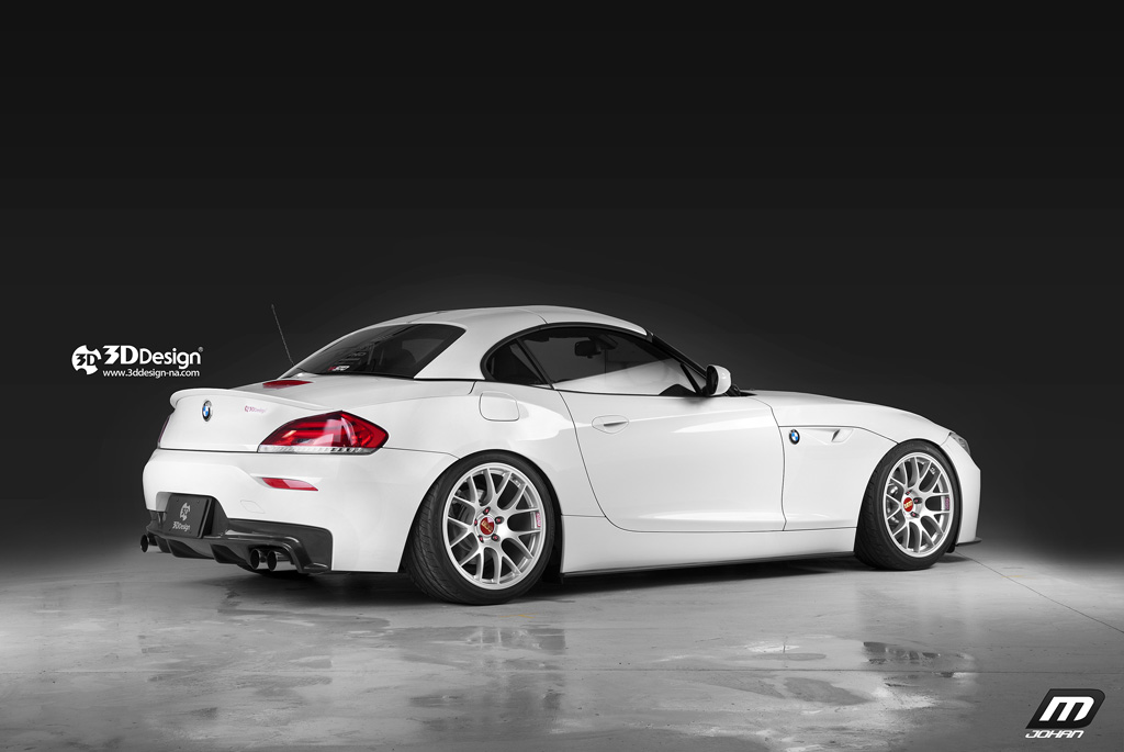 3d Design Introduces Their E89 Bmw Z4 For North America