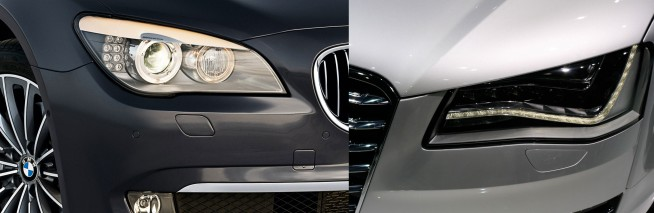 7-series-vs-audi-a8-headlights