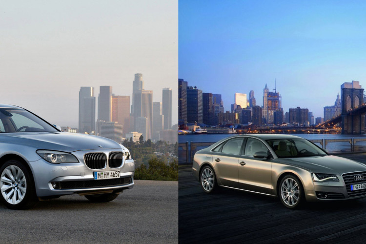 7 series vs audi a8 side front 750x500