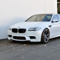 8370971099 fca05416f9 Frozen White BMW F10 M5 Akrapovic Evolution Exhaust 278 120x120
