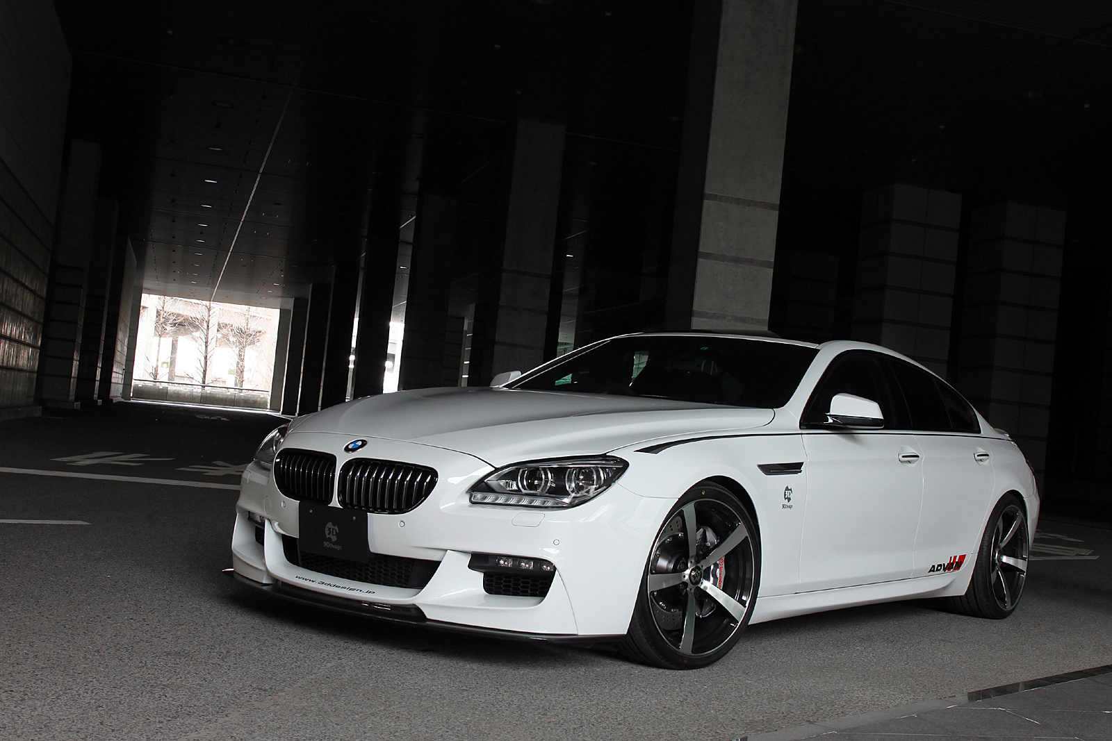 Bmw 6 Series Gran Coupe By 3d Design