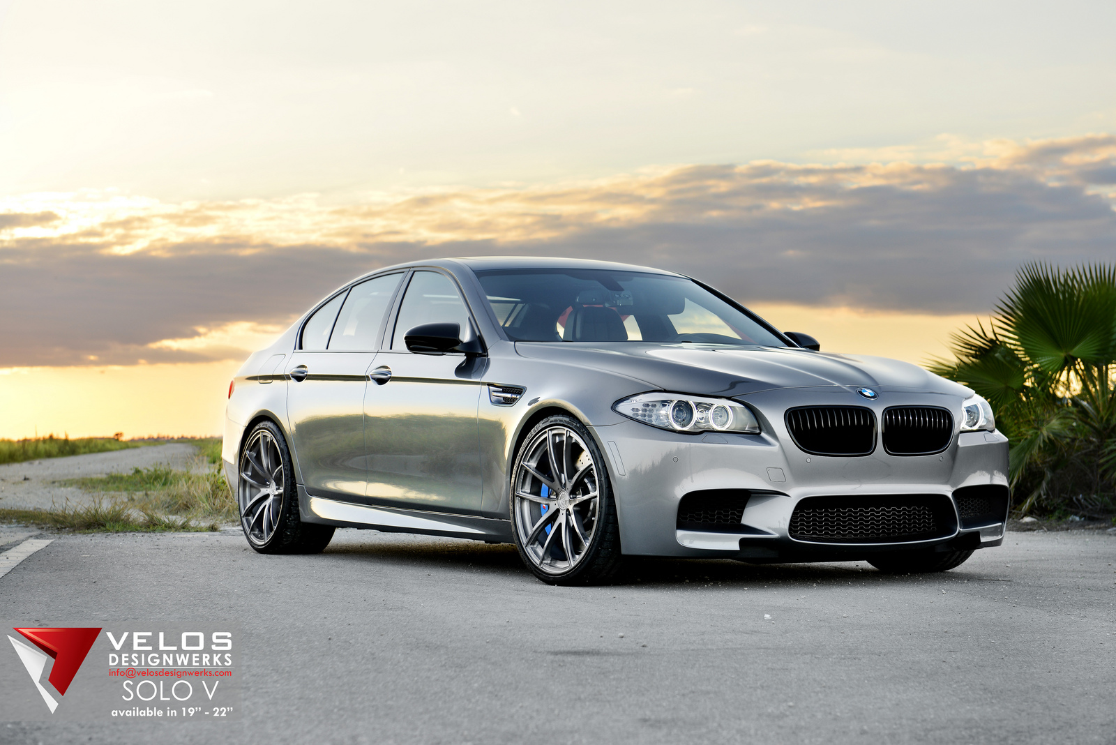 2013 Bmw F10 M5 On Velos Designwerks Solo V Wheels