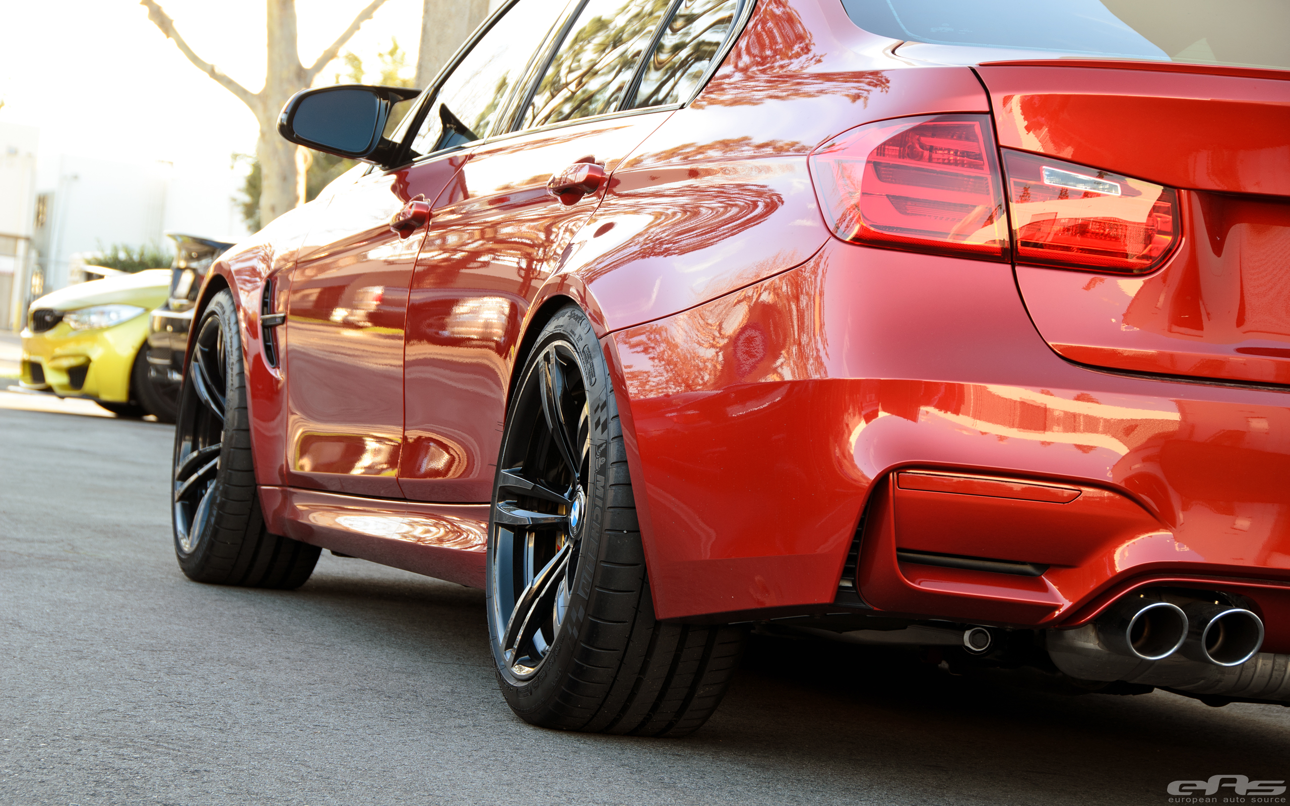 A Beautiful Sakhir Orange Bmw F80 M3 Gets A Few Modifications