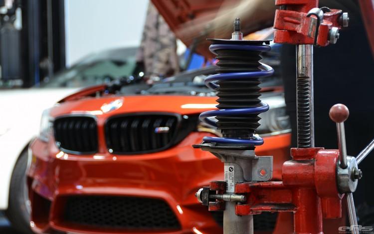 A Beautiful Sakhir Orange BMW F80 M3 Gets A Few Modifications 3 750x469
