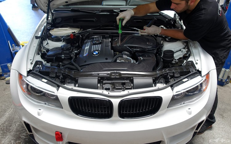 A Carbon Fiber Intake Added To A BMW 1M By European Auto Source 6 750x469