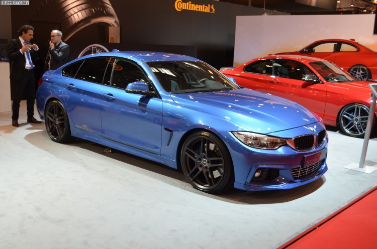 AC Schnitzer BMW 4er Gran Coupe F36 Tuning Estorilblau Essen 2014 01 750x496