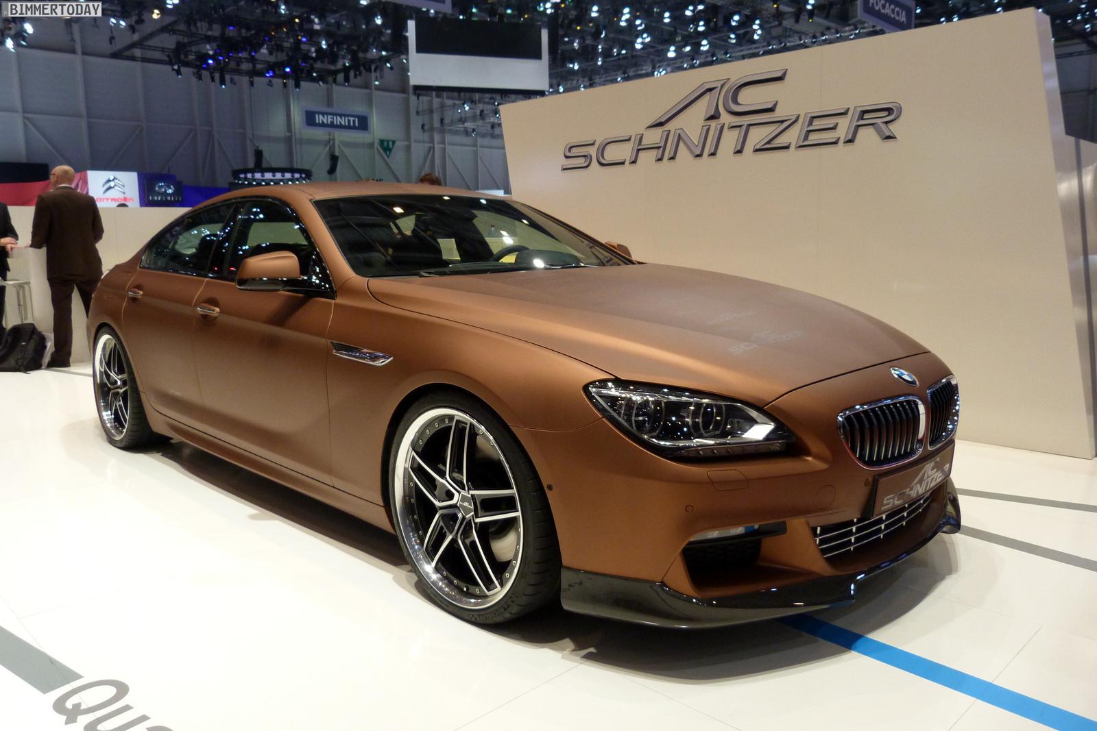 2013 Geneva Ac Schnitzer 6 Series Gran Coupe