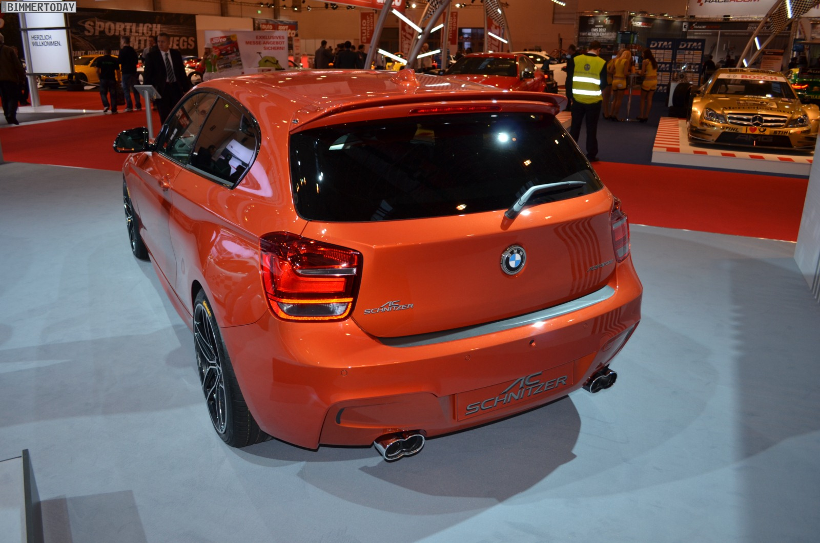 2012 essen motor show ac schnitzer bmw m135i in valencia. Black Bedroom Furniture Sets. Home Design Ideas