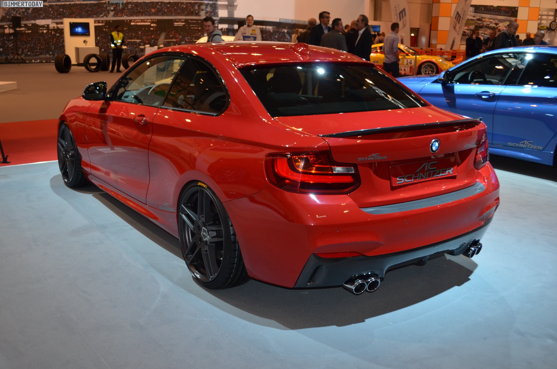 ac schnitzer bmw m235i with 380 hp. Black Bedroom Furniture Sets. Home Design Ideas