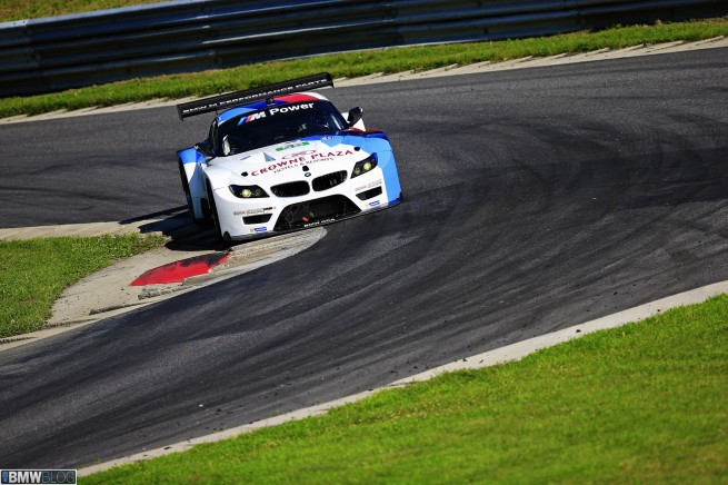 BMW Team RLL at 2013 ALMS GT Qualifying at Lime Rock Park.