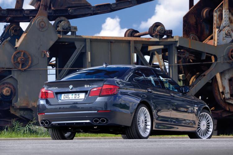 Debut: ALPINA D5 Bi-Turbo based on BMW 535d