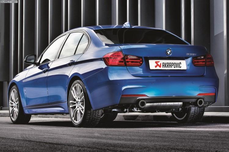 Akrapovic BMW 335i F30 750x500