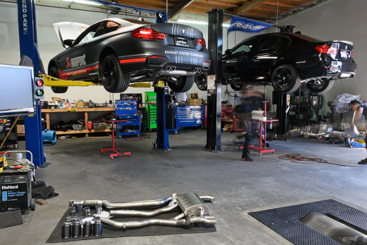 Akrapovic Evolution Exhaust for F80 M3 And F82 M4 By EAS Installation 1 750x500
