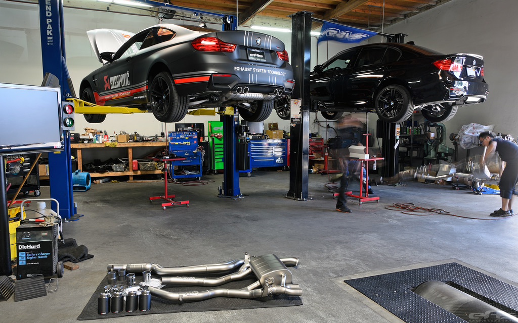 Akrapovic Evolution Exhaust for F80 M3 And F82 M4 By EAS Installation 1