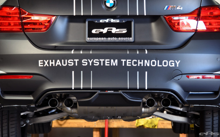 Akrapovic Evolution Exhaust for F80 M3 And F82 M4 By EAS Installation 11 750x468