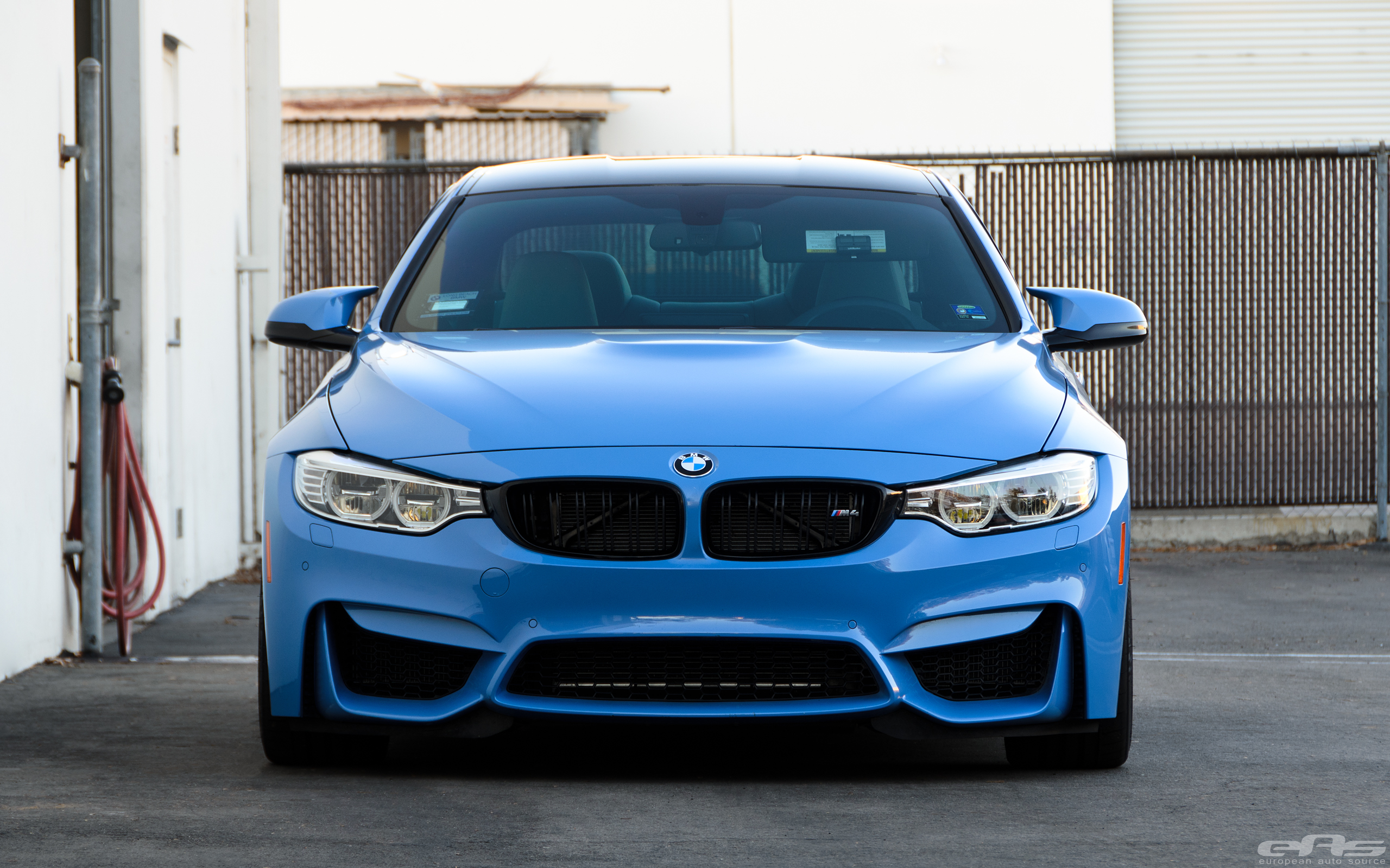 Akrapovic Exhaust And KW HAS Installed On Yas Marina Blue M4 Image 1
