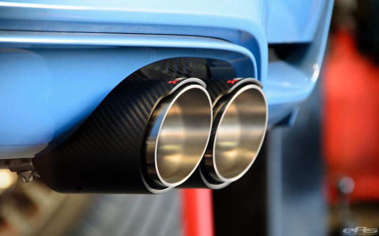 Akrapovic Exhaust And KW HAS Installed On Yas Marina Blue M4 Image 25