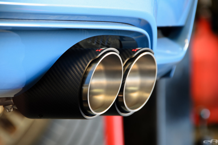 Akrapovic Exhaust And KW HAS Installed On Yas Marina Blue M4 Image 25 750x500