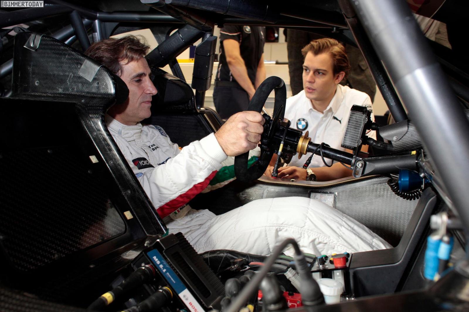 Alessandro Alex Zanardi BMW M3 DTM Test Nuerburgring 2012 01