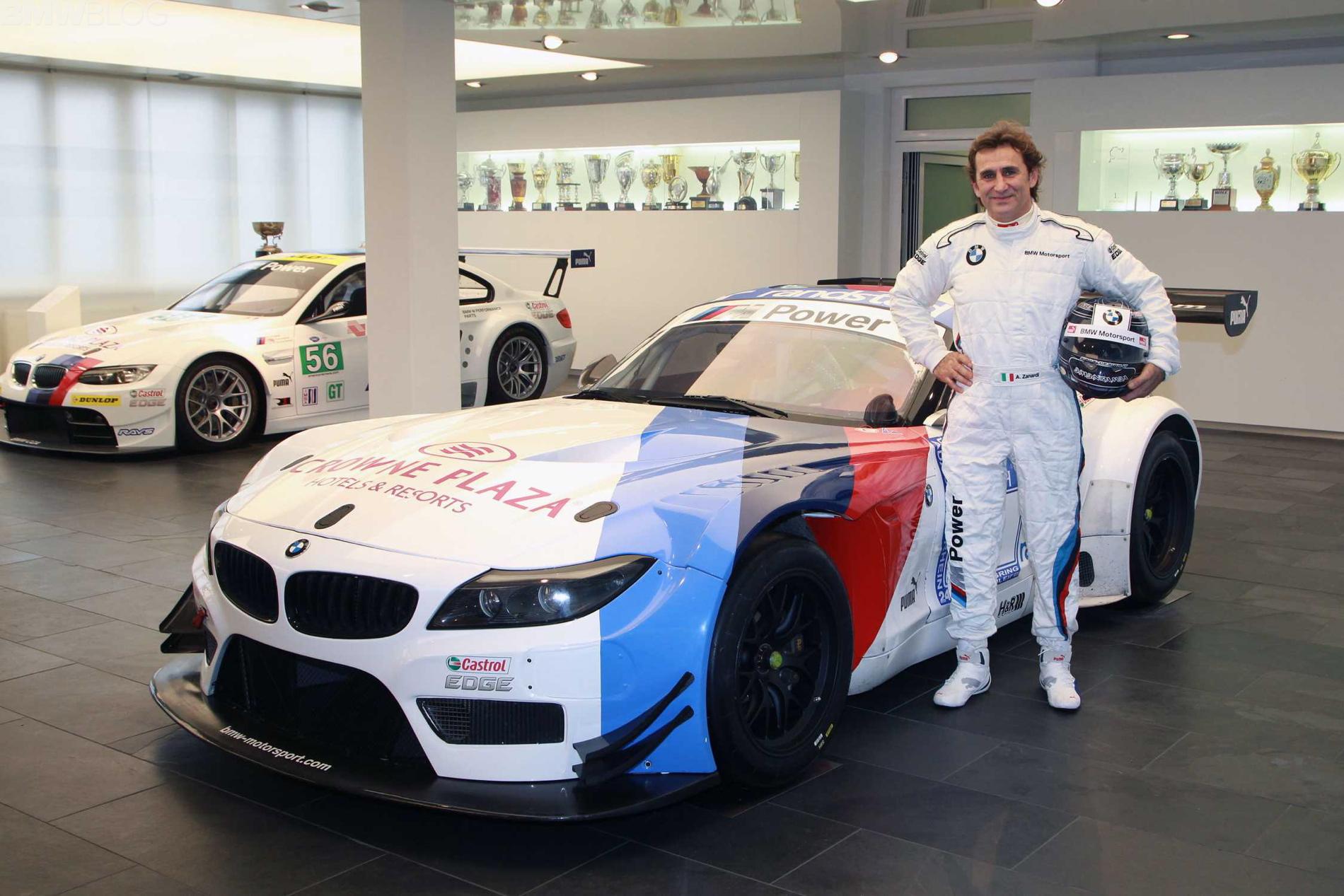 Alessandro Zanardi Returns To The Cockpit With Bmw Motorsport
