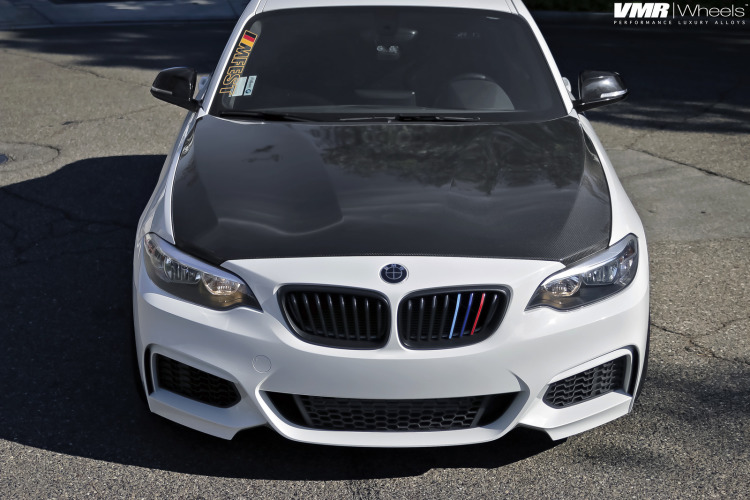 Alpine White BMW 2Series On VMR Wheels