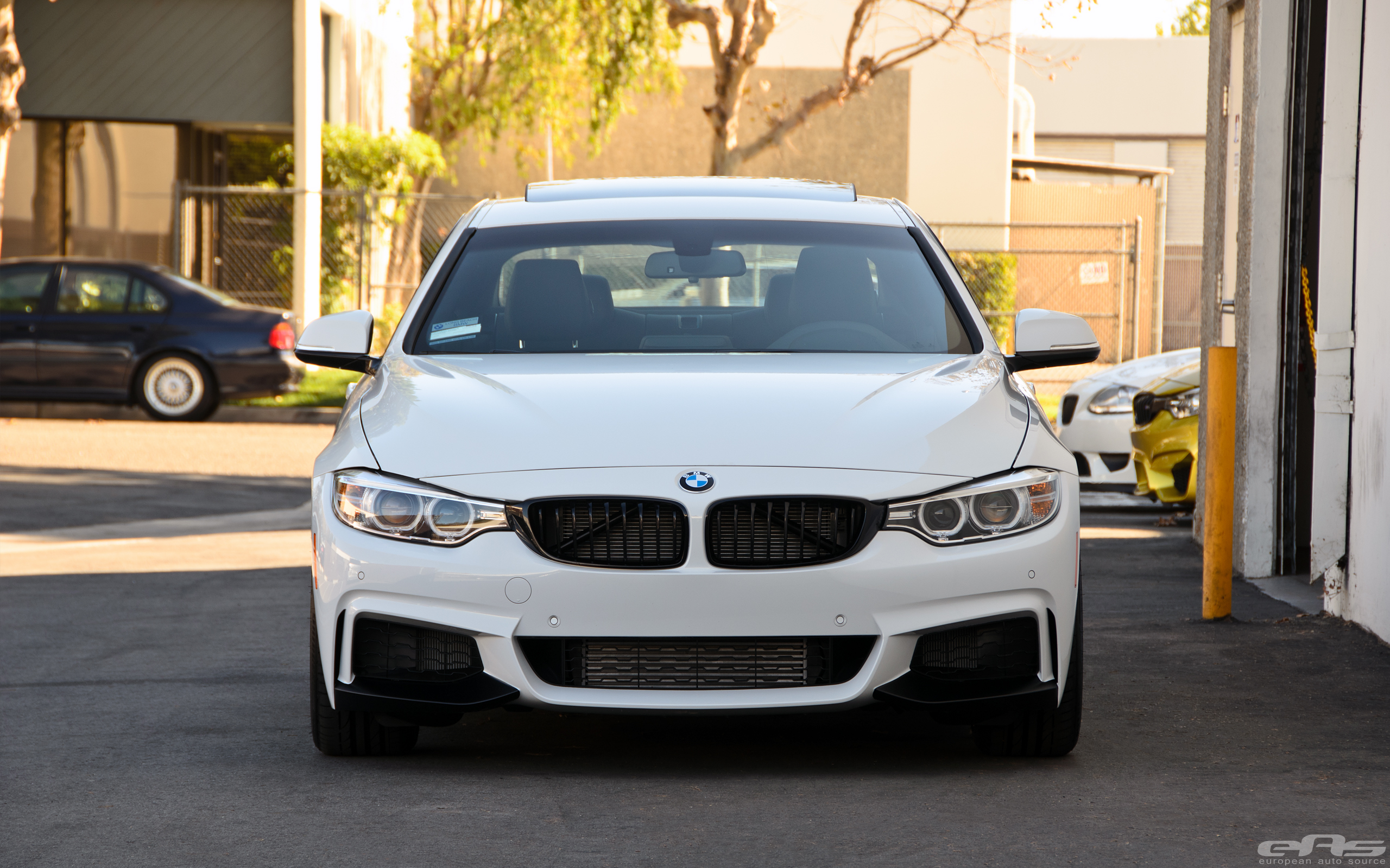 Alpine White BMW 428i Build 13