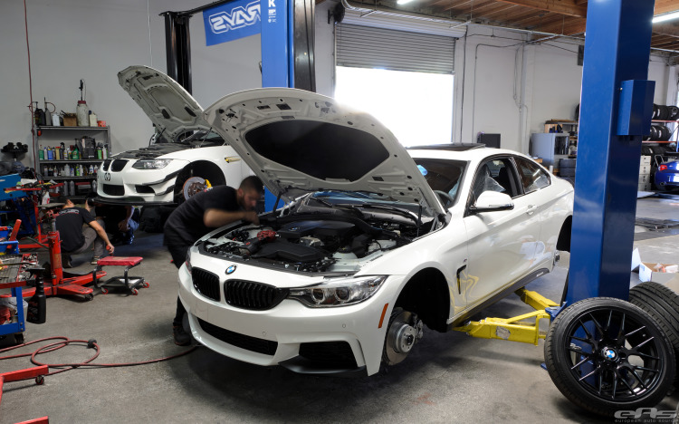 Alpine White BMW 428i Build 3 750x468