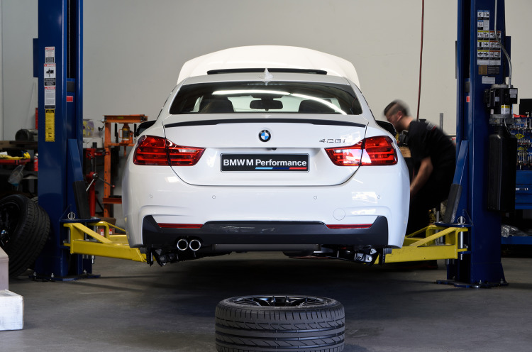 Alpine White BMW 428i Build
