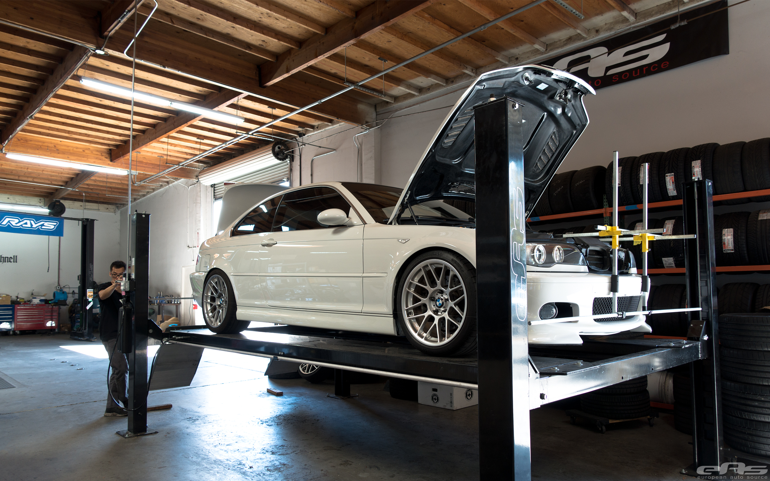 Alpine White Bmw E46 330ci Tuning Build