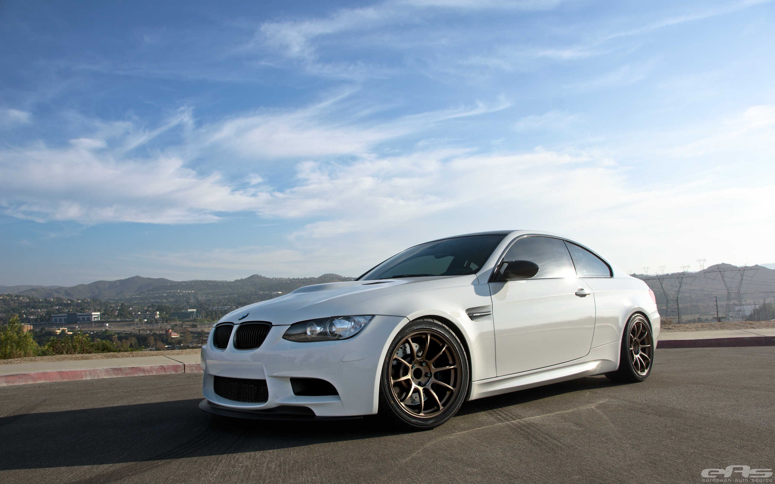 Alpine White Bmw E92 M3 Is Ready For The Track