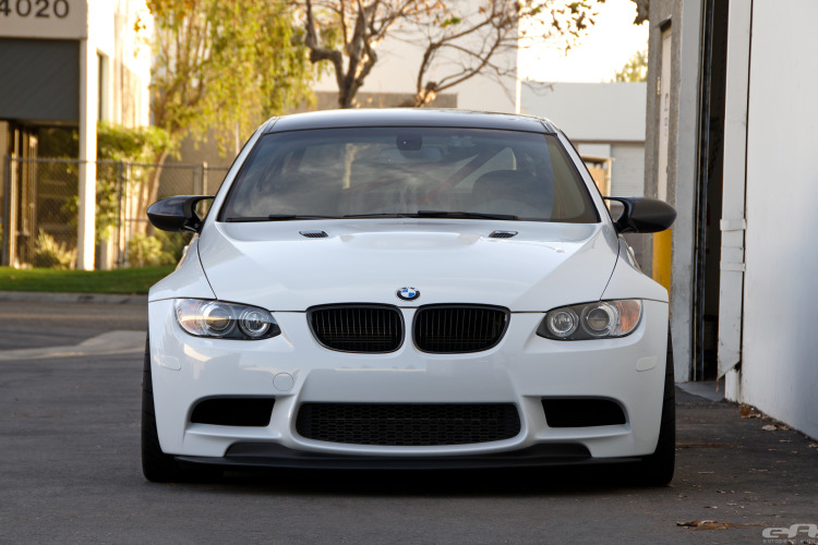 Alpine White BMW E92 M3 Project 19 750x500