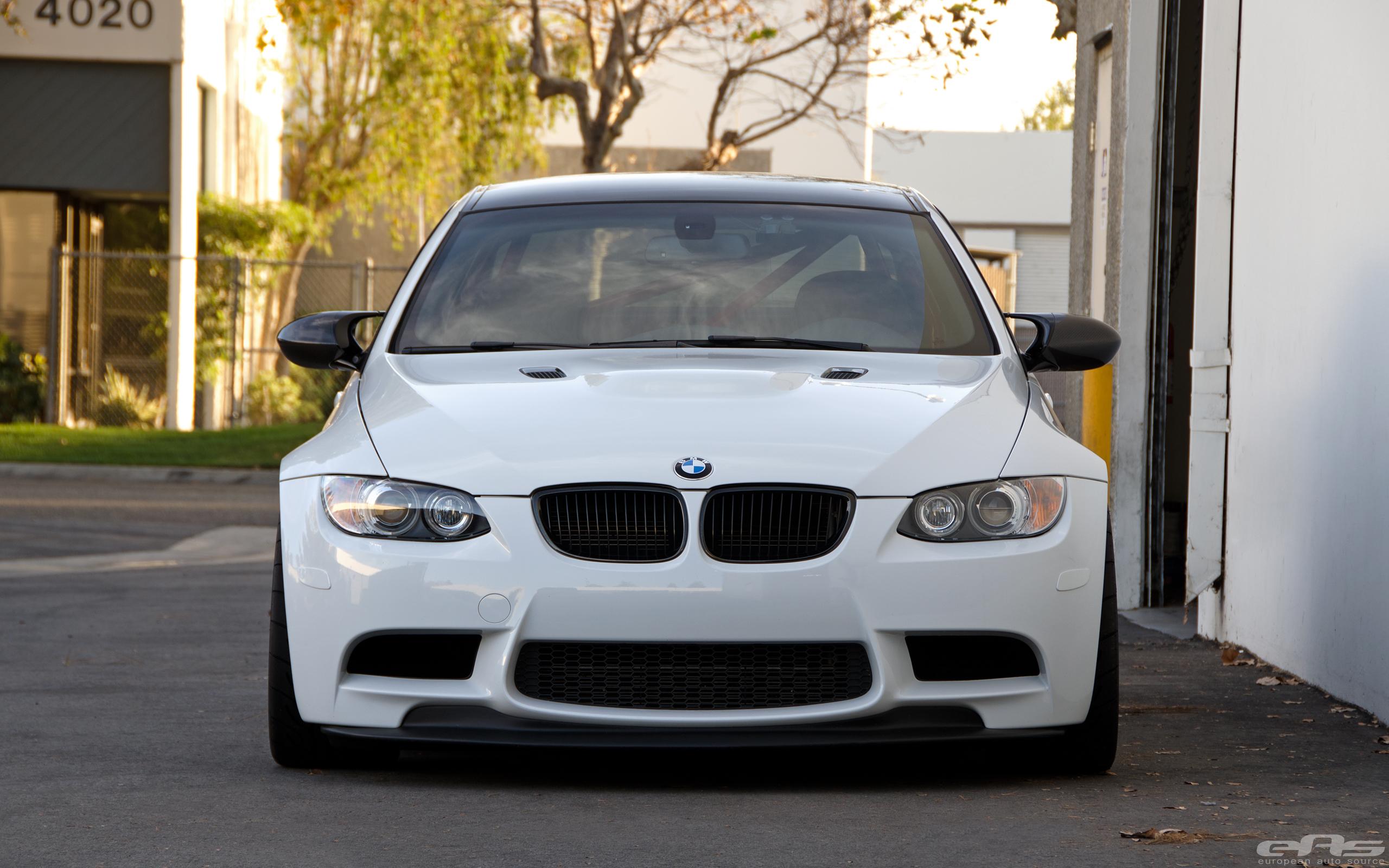 Alpine White BMW E92 M3 Project 19