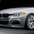 Alpine White BMW F30 335i With A Set Of VMR Wheels