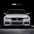Alpine White BMW F30 335i With V702 Matte Gunmetal Wheels 1 120x120