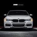 Alpine White BMW F30 335i With V702 Matte Gunmetal Wheels 1 120x120