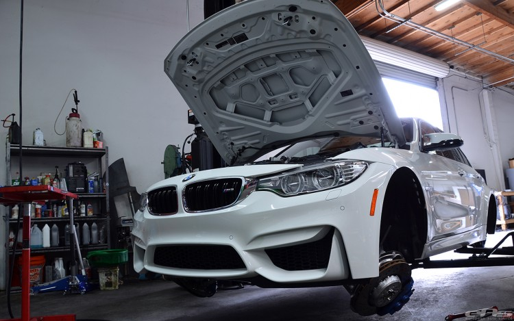Alpine White BMW F80 M3 Gets Low And Wide At European Auto Source 1 750x469