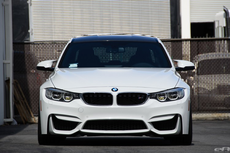 Alpine White BMW F80 M3 Gets Low And Wide At European Auto Source 11 750x500