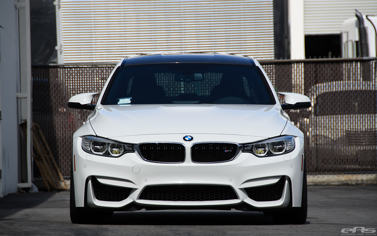 Alpine White BMW F80 M3 Gets Low And Wide At European Auto Source 11