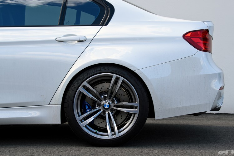 Alpine White BMW F80 M3 Gets Low And Wide At European Auto Source 6 750x500