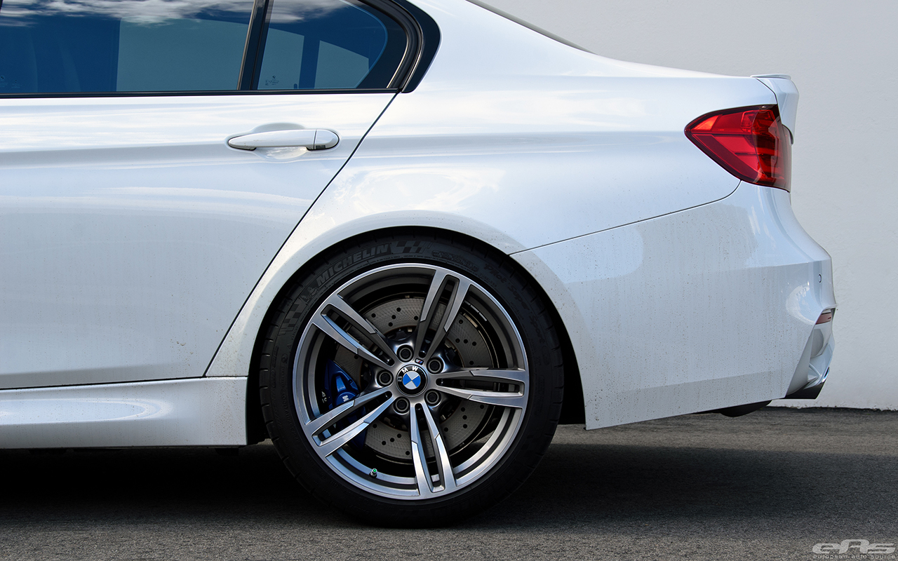 Alpine White BMW F80 M3 Gets Low And Wide At European Auto Source 6
