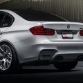 Alpine White BMW F80 M3 Equipped With VMR Wheels