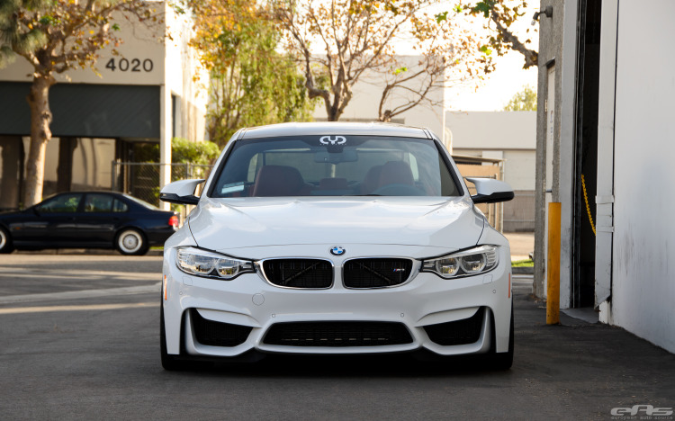 Alpine White BMW F80 M3 With A Selection Of Aftermarket Goodies 1 750x468