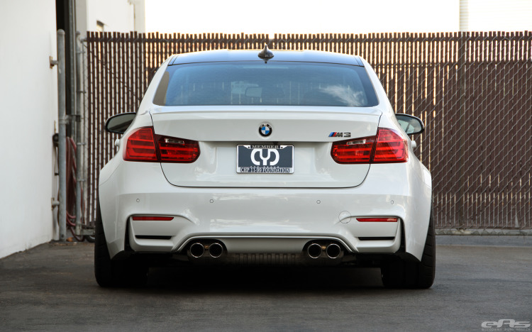 Alpine White BMW F80 M3 With A Selection Of Aftermarket Goodies 4 750x468