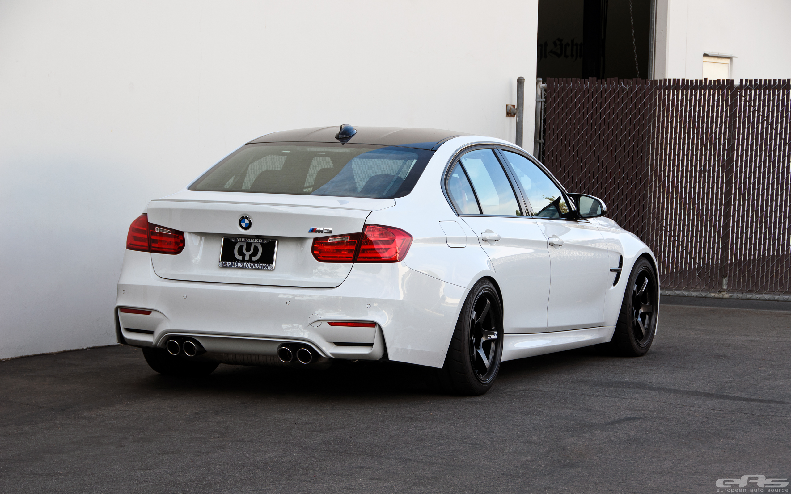Alpine White Bmw F80 M3 With A Selection Of Aftermarket