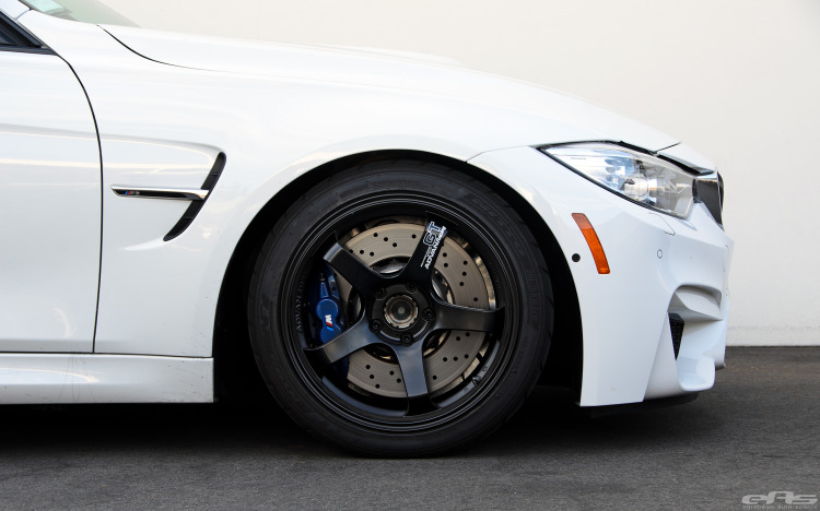Alpine White BMW F80 M3 With A Selection Of Aftermarket Goodies